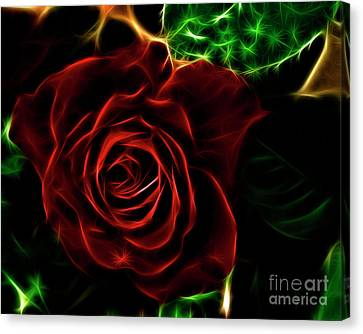Red's Passion Canvas Print