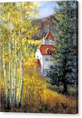 Redstone Inn Canvas Print
