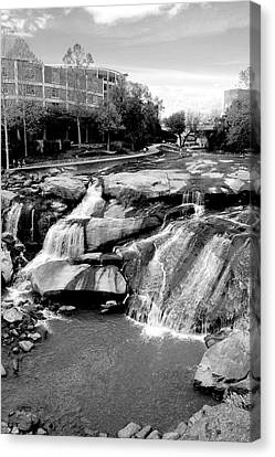Canvas Print featuring the photograph Reedy River by Corinne Rhode