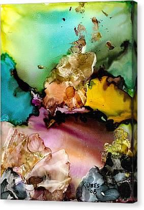Reef 3 Canvas Print by Susan Kubes