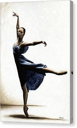 Refined Grace Canvas Print by Richard Young