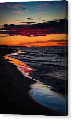 Reflect On This Canvas Print by Peter Scott