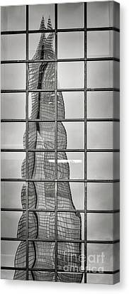 Reflected Shard Canvas Print by Rod McLean