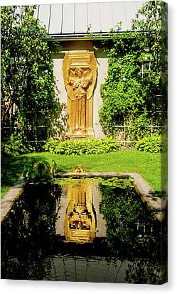 Reflecting Art Canvas Print by Greg Fortier