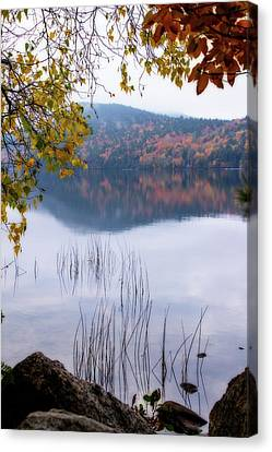 Reflecting Autumn Canvas Print