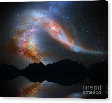 Reflecting Heaven Canvas Print