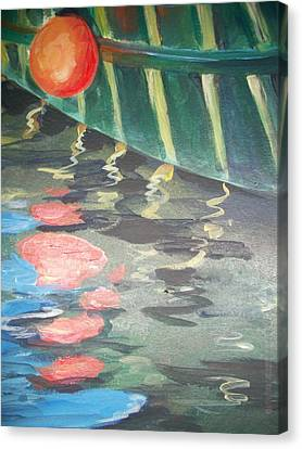 Reflecting Canvas Print by Mickey Bissell
