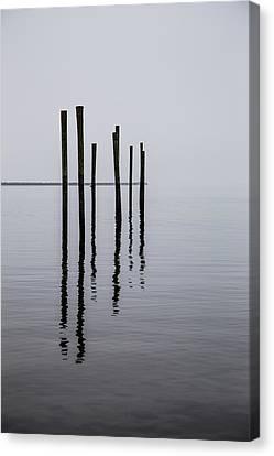 Reflecting Poles Canvas Print