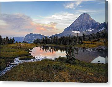 Reflecting Pool Canvas Print by Mike Lang