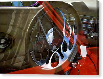 Canvas Print featuring the photograph Reflecting Reflections by Kae Cheatham