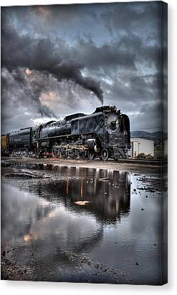 Reflecting Steamer  Canvas Print