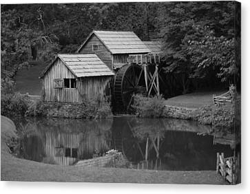 Reflecting The Mill Canvas Print