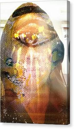 Inner Self Canvas Print - Reflecting Within by Michael African Visions