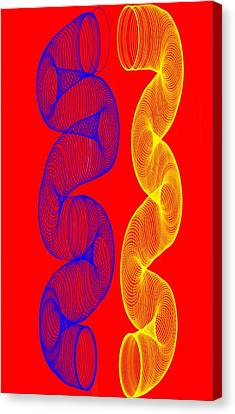 Reflection  Canvas Print by Andrew Karp