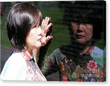 Reflection At The Wall Pt.2 Canvas Print