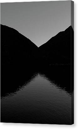 Reflection Canvas Print by Atom Crawford