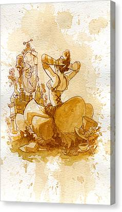 Reflection Canvas Print by Brian Kesinger
