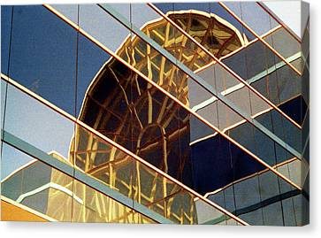 Canvas Print featuring the photograph Reflection by John Schneider