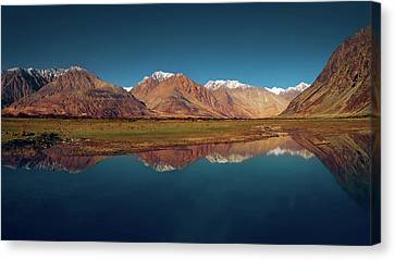 Reflection Canvas Print by Marji Lang