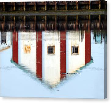 Canvas Print featuring the photograph Reflection No 1 by JoAnn Lense