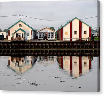 Canvas Print featuring the photograph Reflection No 2 by JoAnn Lense