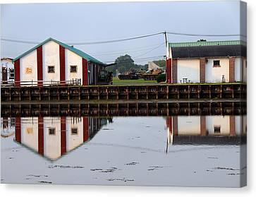 Canvas Print featuring the photograph Reflection No 3 by JoAnn Lense