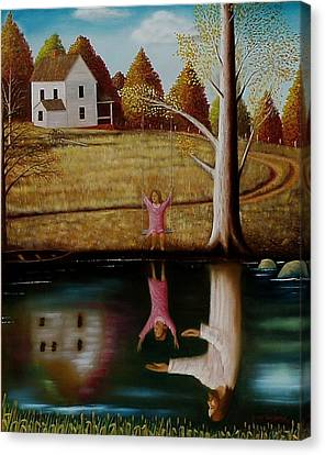 Reflection Of Protection. Canvas Print