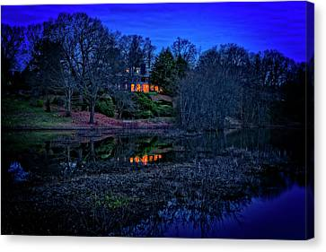 Reflection On The Concord River Canvas Print