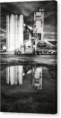 Reflection Puddle Canvas Print by Dustin Soph