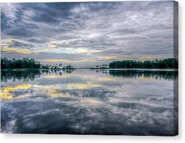 Canvas Print featuring the photograph Reflection by Rob Sellers