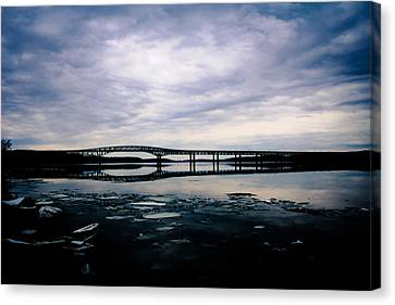 Reflection Canvas Print by Victory  Designs