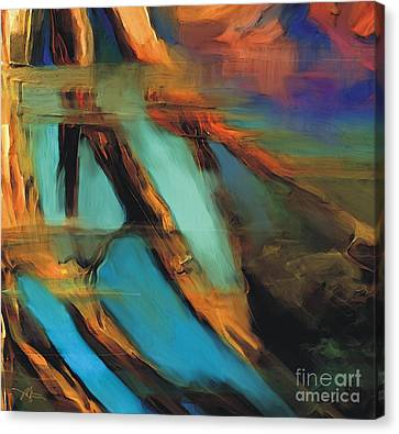 Reflections Canvas Print by Bob Salo