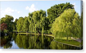Reflections Canvas Print by Corinne Rhode