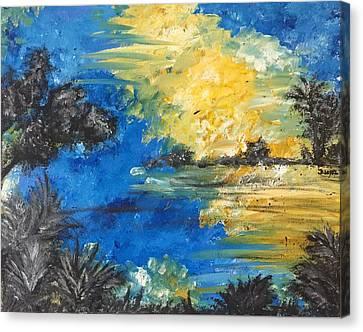 Reflections Canvas Print by Dayna Lopez