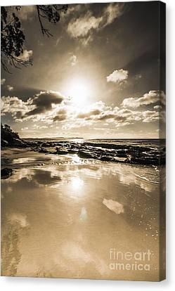 Reflections From Adventure Bay Canvas Print by Jorgo Photography - Wall Art Gallery