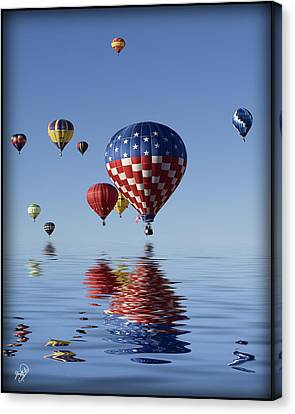 Reflections Canvas Print by Gordon Engebretson
