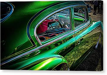 Reflections In Green Canvas Print