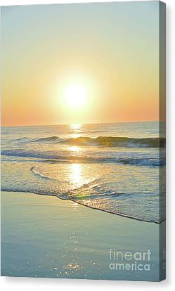 Reflections Meditation Art Canvas Print by Robyn King