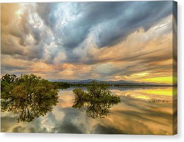 Reflections Of A Thunderstorm Canvas Print by James BO Insogna