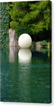 Reflections Of An Orb Canvas Print by Tim Mattox
