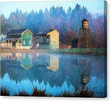 Reflections Of Hope - Hope Valley Art Canvas Print by Jordan Blackstone