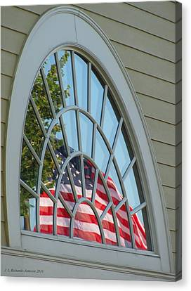 Reflections Of Independence Canvas Print