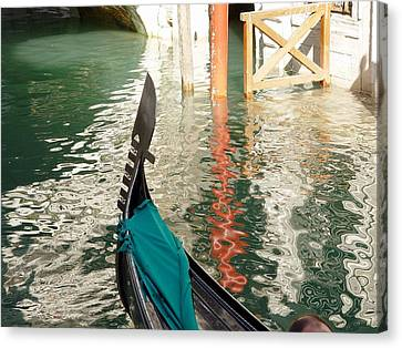 Reflections Of Italy 1. Canvas Print