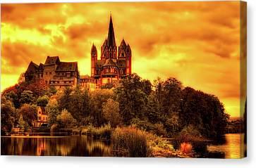 Limburg Canvas Print - Reflections Of Limburg Germany by Pixabay