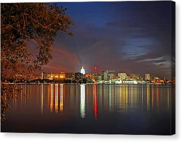 Dane Canvas Print - Reflections Of Madison by Todd Klassy