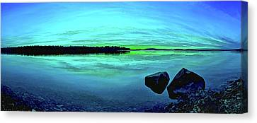 Reflections Of Serenity Canvas Print by ABeautifulSky Photography