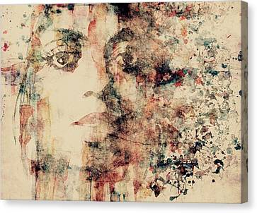 Diana Ross Canvas Print - Reflections  by Paul Lovering