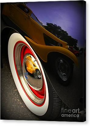 Reflections Canvas Print by Perry Webster