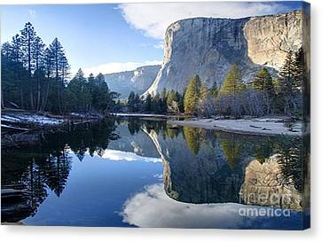 Reflections Canvas Print by Rod Jellison