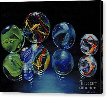 Reflections Canvas Print by Wendy Galletta